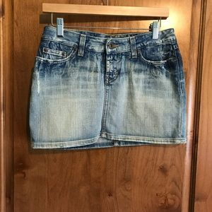 BKE Women's Denim Skirt gently used